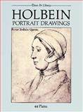 Holbein Portrait Drawings, Hans Holbein, 0486249379
