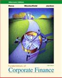 Fundamentals of Corporate Finance, Ross, Stephen A. and Westerfield, Randolph W., 0072319372