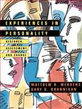 Experiences in Personality : Research, Assessment, and Change, Merrens, Matthew R. and Brannigan, Gary G., 0471139378