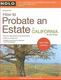 How to Probate an Estate in California, Julia Nissley, 1413309372