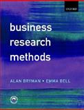 Business Research Methods, Bryman, Alan and Bell, Emma, 0199259380