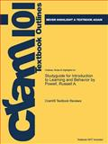 Studyguide for Introduction to Learning and Behavior by Powell, Russell A., Cram101 Textbook Reviews, 1478479388