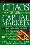 Chaos and Order in the Capital Markets, Edgar E. Peters, 0471139386
