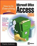 Microsoft Office Access 2003, Andersen, Virginia, 0072229381