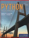 Python Programming in Context, Bradley N. Miller and David L. Ranum, 1449699391