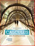 Calculus and Its Applications, Bittinger, Marvin L. and Ellenbogen, David J., 0321979397