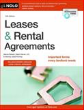 Leases and Rental Agreements, Marcia Stewart and Attorney, Ralph Warner, 1413319394