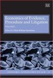 Economics of Evidence, Procedure and Litigation, , 1845429397