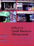 Effective Small Business Management, Hodgetts, Richard M. and Kuratko, Donald F., 0030319390