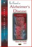 New Research on Alzheimer's Disease, Welsh, Eileen M., 1594549397