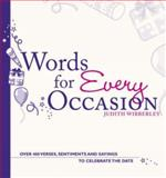 Words for Every Occasion, Judith Wibberley, 0715329391