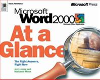 Microsoft Word 2000 at a Glance, Joyce, Jerry and Moon, Marianne, 1572319402