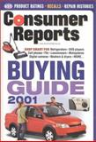 Buying Guide 2001, Consumer Reports Books Editors, 0890439400