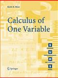 Calculus of One Variable, Hirst, Keith E., 1852339403