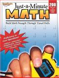 Just-a-Minute Math, Steck-Vaughn Staff, 0739879405