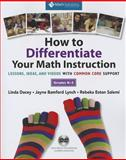 How to Differentiate Your Math Instruction, Grades K-5 Multimedia Resource