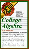 College Algebra, Leff, Lawrence S., 0812019407