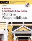 The California Landlord's Law Book, David Brown and Ralph Warner, 1413309402
