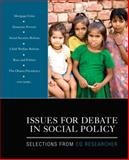 Issues for Debate in Social Policy : Selections from CQ Researcher, Researcher, C. Q., 1412979412