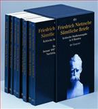 Friedrich Nietzsche Samtliche Briefe Kritische Studienausgabe : In 8 Banden; Unveranderte, zweite Auflage, Colli, Giorgio and Montinari, Mazzino, 3110179415