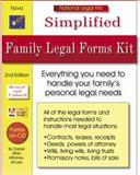 Simplified Family Legal Forms Kit, Daniel Sitarz, 1892949415