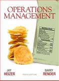 Operations Management, Heizer, Jay H. and Render, Barry, 0136119417