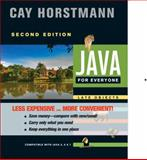 Java for Everyone, Horstmann, Cay S., 1118129415