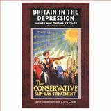 Britain in the Depression : Society and Politics, 1929-1939, Stevenson, John and Cook, Chris, 0582229413
