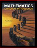 Mathematics : A Discrete Introduction, Scheinerman, Edward A., 0840049420