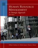 Human Resource Management : A Strategic Approach, Anthony, William P. and Kacmar, K. Michelle, 0324389426
