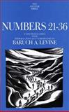 Numbers, 21-36, Levine, Baruch A., 030013942X