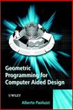 Geometric Programming for Computer Aided Design 9780471899426