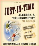 Just-in-Time Algebra and Trigonometry for Students of Calculus, Mueller, Guntram and Brent, Ronald I., 0321269438