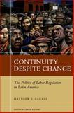 Continuity Despite Change, Matthew Carnes, 0804789436