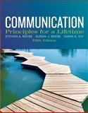 Communication : Principles for a Lifetime, Beebe, Steven A. and Beebe, Susan J., 0205029434