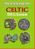 Shiny Celtic Stickers, Marty Noble, 0486439437
