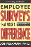 Employee Surveys That Make a Difference 9781890009434