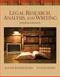 Legal Research, Analysis, and Writing, Hames, Joanne Banker and Ekern, Yvonne, 0135109442