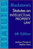 Statutes on Intellectual Property, , 0199259445