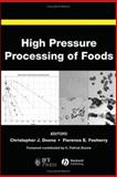 High Pressure Processing of Foods, Florence Feeherry, Christopher Doona, 0813809444