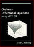 Using MatLab for Differential Equations, Polking, John, 0131339443