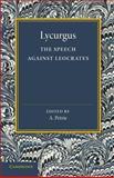 The Speech Against Leocrates, Lycurgus, 1107669456