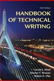 Handbook of Technical Writing, Alred, Gerald J. and Brusaw, Charles T., 0312679459