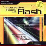 Interactive Pages with Flash, Daniel Donnelly, 1564969452