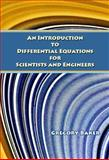 An Introduction to Differential Equations for Scientists and Engineers, Baker, Gregory, 1934849456