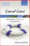 Land Law 2007-2008, Wilkie, Margaret and Luxton, Peter, 0199299455