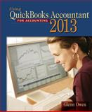 Using Quickbooks Accountant 2013 (with CD-ROM and Data File CD-ROM), Owen, Glenn, 1285089456