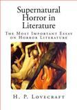 Supernatural Horror in Literature, H. Lovecraft, 1500499455