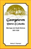 Georgetown, District of Columbia, Marriage and Death Notices, Wesley E. Pippenger, 1585499455