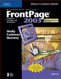 Microsoft Office FrontPage 2003, Shelly, Gary B. and Cashman, Thomas J., 1418859451